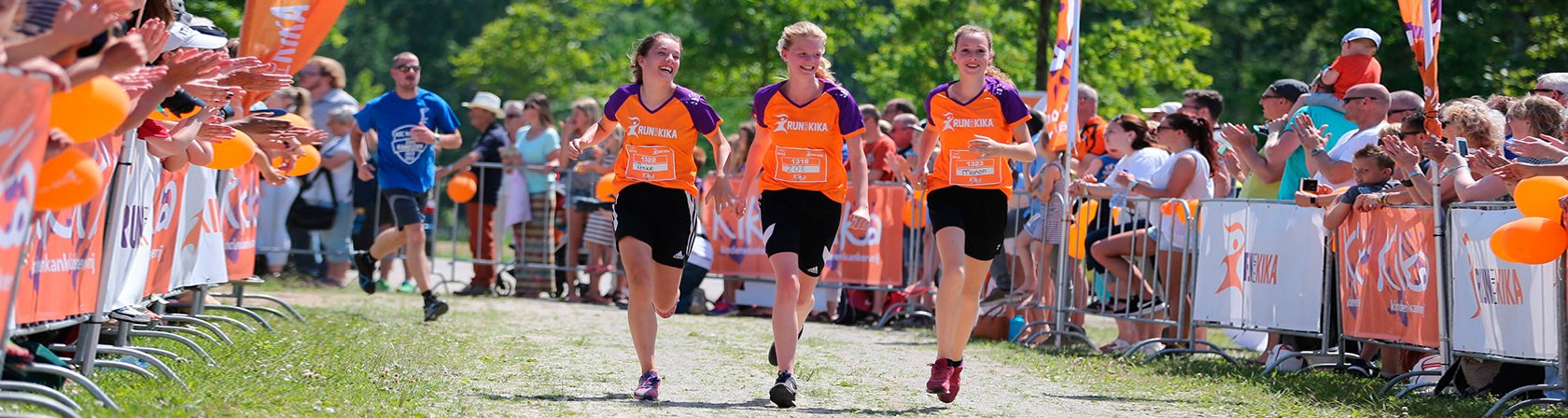 M2 steunt Run voor Kika met eventdressing